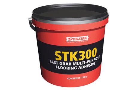 Adhésif polyvalent pour revêtements de sols STK300 à préhension ...