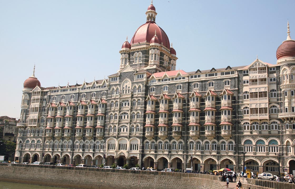 The Taj Mahal Hotel in Mumbai India
