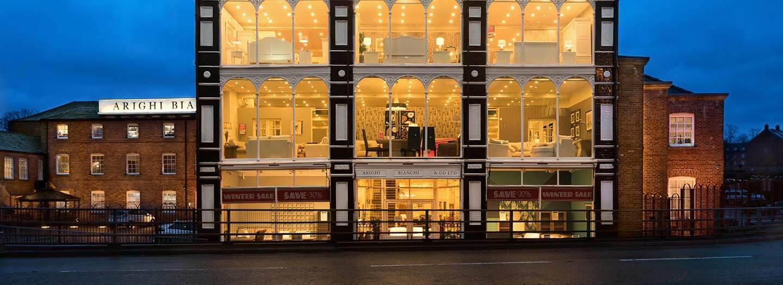 Arighi Bianchi Macclesfield Furniture Store Flooring Case
