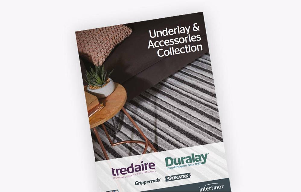 The Interfloor underlay & accessories collection brochure